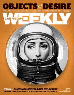 Las Vegas Weekly: I love the use of object as image; the Fornasetti plate as something more than simply a plate.