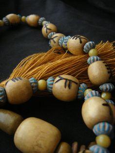 Ogham Prayer Beads CUSTOM SETYour choice in Colors by DancersGrove, $42.00