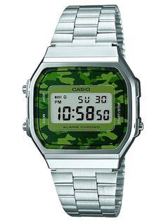 daa32981570dd CASIO COLLECTION   A168WEC-3EF Relogios Masculinos Prata, Relógios  Masculinos, Relogio Feminino Prata