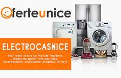 Oferte unice din gama produselor Electrocasnice ieftine. ➡  Vezi toata oferta ce include frigidere, masini de spalat rufe sau masini de spalat vase vase, incorporabile, aparate de climatizare, aragazuri si hote pe oferteunice.ro  #Romania #OferteUnice #shop #cumparaonline #Electrocasnice