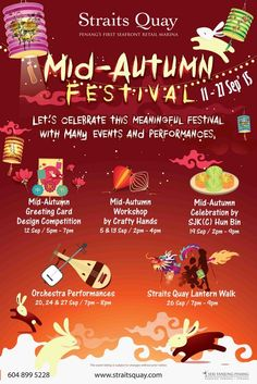 mid autumn festival poster - Google Search Event Poster Design, Mid Autumn Festival, Moon Cake, Design Competitions, Festival Posters, Lets Celebrate, China Fashion, Chinese Art, Workshop