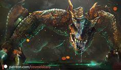 Monster Hunter Series, Monster Hunter Art, Monster Art, Fantasy Dragon, Dragon Art, Fantasy Art, Alien Concept Art, Creature Concept Art, Fantasy Creatures