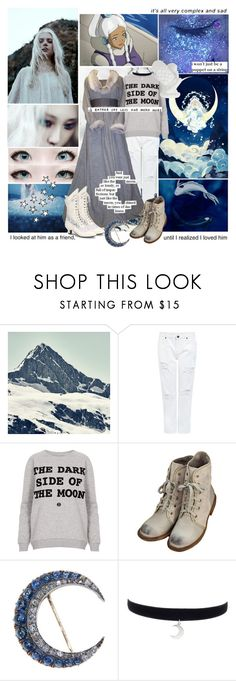 """Princess Yue (Avatar The Last Airbender)"" by smol-snowflake ❤ liked on Polyvore featuring Edit, Topshop, Retrò, John Lewis and Love Quotes Scarves"