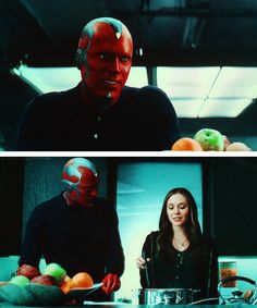 I loved the humanity they gave Vision in Civil War and his developing relationship with Scarlet Witch