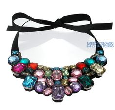 Luxury necklace Crystal