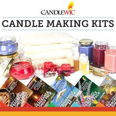 Looking for a new DIY craft? Pick your favorite fragrance and get addicted to candle making. Our beginner kits are the perfect place to start.