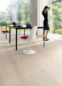 White oak flooring - like this style but we have the knots