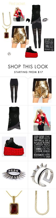 """""""Hip Hop Dance. My Personality Part 4"""" by mahayla-huff ❤ liked on Polyvore featuring ASOS, Desigual, Y.R.U., WithChic, Maria Francesca Pepe, women's clothing, women, female, woman and misses"""