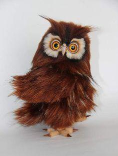 Mr. Wise owl By Averina Olesya - Bear Pile