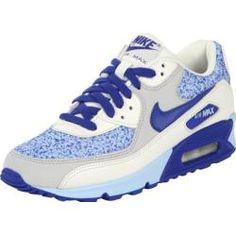 Nike Air Max 90 W Running Schuhe blau grau wei