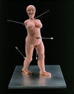 Louise Bourgeois, St Sebastienne, 2002.