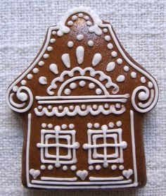 Gift Ideas for Cooks [Creative and inexpensive] Christmas Gingerbread House, Rustic Christmas, Christmas Treats, Christmas Baking, Christmas Tree Ornaments, Christmas Cookies, Gingerbread Houses, Gingerbread Decorations, Gingerbread Cookies