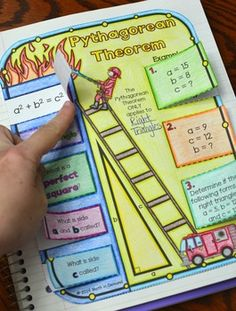 Pythagorean Theorem Foldable (Great for Math Interactive N