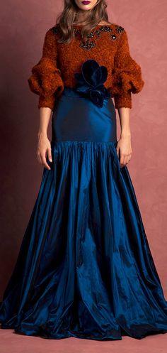 JOHANNA ORTIZ Bonaparte Embellished Pullover &  Aelia Skirt
