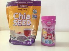 Мои покупки и отзывы на iHerb.com: Семена чиа и детские мультивитамины Chia Seeds, Superfood, Vitamins, Fiber, Organic, Blog, Low Fiber Foods, Blogging, Vitamin D