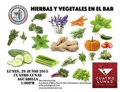 Seminario de Hierbas y Vegetales en el Bar @ Aguadilla #sondeaquipr #bartenderspr #prba #cuatrolunas #aguadilla #seminarioprba