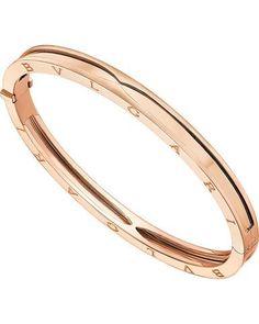 Bvlgari Bulgari Inspired B.zero1 14kt Pink/Rose Gold Bangle Bracelet