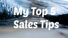 5 simple ways to become a better salesperson