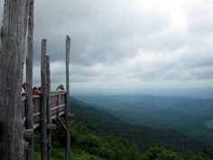 Bald knob lookout