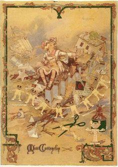 Miss Cuttenclip, The Emerald City of Oz, John R. Neill