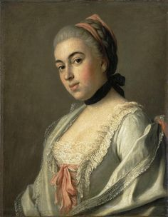 1756/1752 Countess A. M. Vorontsova by Pietro Antonio Rotari