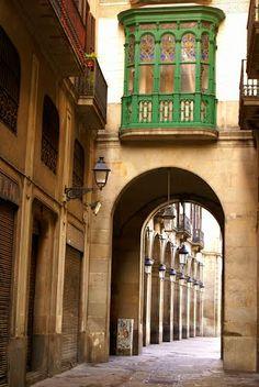 Racó  al carrer  Escudellers  Barcelona  Catalonia