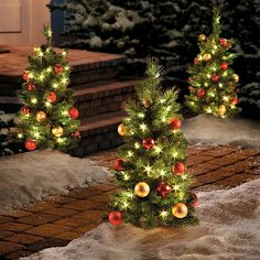 improvements regal led pathway stake christmas tree - Christmas Tree Pathway Lights