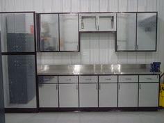 Diamond Plate Kitchen