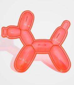 A jello mould shaped like a balloon dog. Cool!