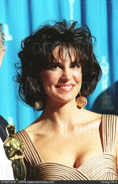 MERCEDES RUEHL  American Actress  At the 1993 Academy Awards  COMPULSORY CREDIT…