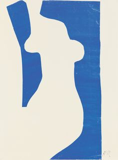 "Henri Matisse (French, 1869-1954). Venus (Vénus), 1952. Gouache on paper, cut and pasted, on white paper, mounted on paper panel. 39 7/8 x 30 1/8"" (101.2 x 76.5 cm). National Gallery of Art, Washington. Ailsa Mellon Bruce Fund, 1973.18.2. © 2015 Succe"