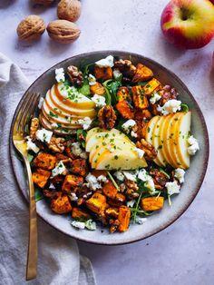 Egg Recipes, Pasta Recipes, Cooking Recipes, Healthy Recipes, Healthy Food, Quinoa Salat Feta, Kiwi, Clean Dinners, Macaroni Salad
