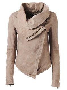 LoLus Fashion: Thaxter Suede Jacket in Light Mink
