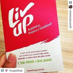 Uma startup de alimentos com um conceito incrível. Vale a pena conhecer! #Repost @livupoficial  É muito legal encontrar profissionais que acreditam e apóiam os nossos ideais!!! Obrigado @vanessasuzuki pela conversa !!! #Repost @vanessasuzuki with @repostapp  Adorei conhecer o conceito da #startup da @livupoficial  #alimentaçãosaudável #sustentabilidade #empreendedorismo by vanessasuzuki1 http://ift.tt/1W61GHe