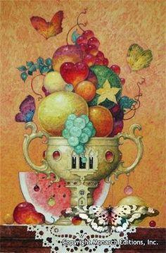 """Still Life"" ~ Daniel Merriam ~ Watercolorist Extraordinaire ~ Miks' Pics ""Daniel Merriam ll"" board @ http://www.pinterest.com/msmgish/daniel-merriam-ll/"