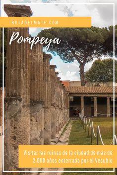 Visita las ruinas de #Pompeya, una ciudad de más de 2000 años sepultada por el #Vesubio. #Napoles #Italia #Turismo #Viajar Desktop Screenshot, 1st Century, Pompeii, Ruins, Community, Board, Tourism, Cities