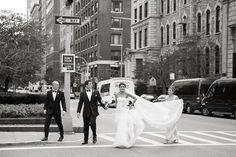 Urban City Wedding Ideas -- a wedding snapshot!