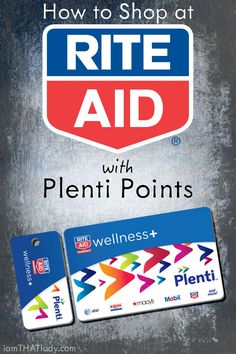 I used to be confused with Rite Aid's new Plenti Point system, until I took some time and figured it ALL out. and it is WAY better than I thought! Here's how to get the most out of Rite Aid with Plenti Points!
