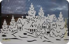 Украшение Новый год Вырезание Новые Новогодние мотивы  Бумага фото 3 Christmas Drawing, Christmas Paper, Winter Christmas, Christmas Time, Christmas Crafts, Christmas Decorations, Christmas Ornaments, Scroll Pattern, Scroll Saw Patterns