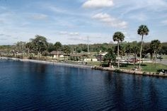 Ed Stone Park on the St. Johns River at Highway 44, DeLand, FL