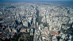 São Paulo's sprawling urban core largely consists of gated communities. (The Megacity Initiative)