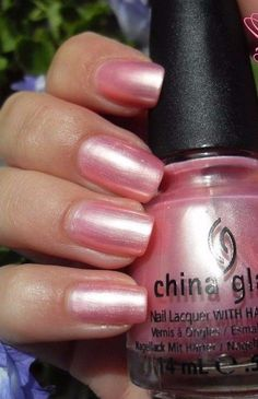$6.17 - China Glaze Exceptionally Gifted Light Soft Pink Pearl Nail Polish Lacquer 70631 #ebay #Fashion