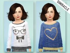 2 Random Sweaters at Simiracle via Sims 4 Updates