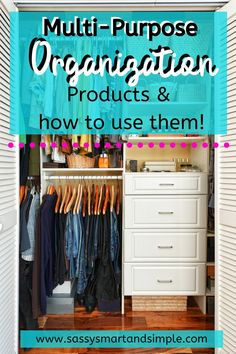 Find out the top home organization ideas and products and how you can use them in your home to make your life more organized, simple and efficient. Life Organization, Organizing Life, Becoming Minimalist, Productivity Apps, Get Your Life, Best Mom, Time Management, Live For Yourself, Declutter