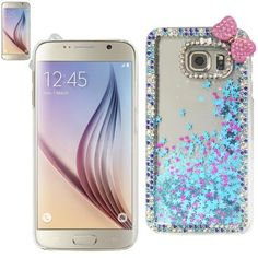 $13.99 Reiko Jewelry Floating Stars Case For Samsung Galaxy S6