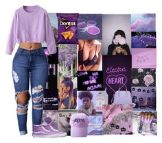 """""""lavender love"""" by cashy-x ❤ liked on Polyvore featuring Kate Spade, CO and Vans"""