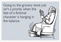 Book quote - it sums up life for those bookworms out there! #Bookworms #BookHumour