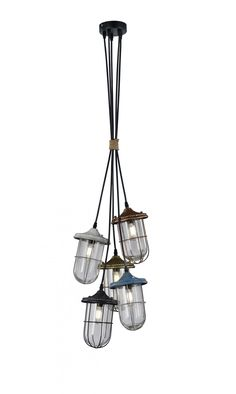TRIO Hanglamp 'Birte', 5-lamps