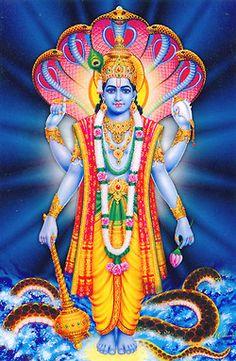 Lord Vishnu is one of the principal deities forming the Hindu trinity & also the Supreme Being in Vaishnavism. Here is a collection of Lord Vishnu Images. Shiva Hindu, Hindu Deities, Krishna Art, Hindu Art, Shree Krishna, Radhe Krishna, Lord Vishnu, Lord Ganesha, Ganesha Art