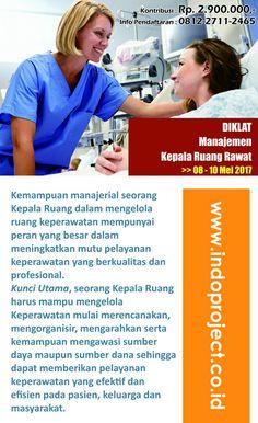 Pelatihan Manajemen Kepala Ruang Rawat Rumah Sakit >> HUB. 0812-2711-2465